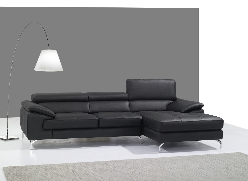 Ashley Red Sectional - Italmoda Furniture Store