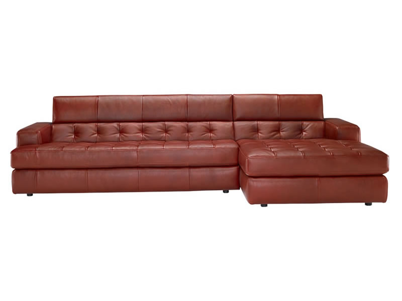 B 748 Leather Sectional Natuzzi Editions Italmoda