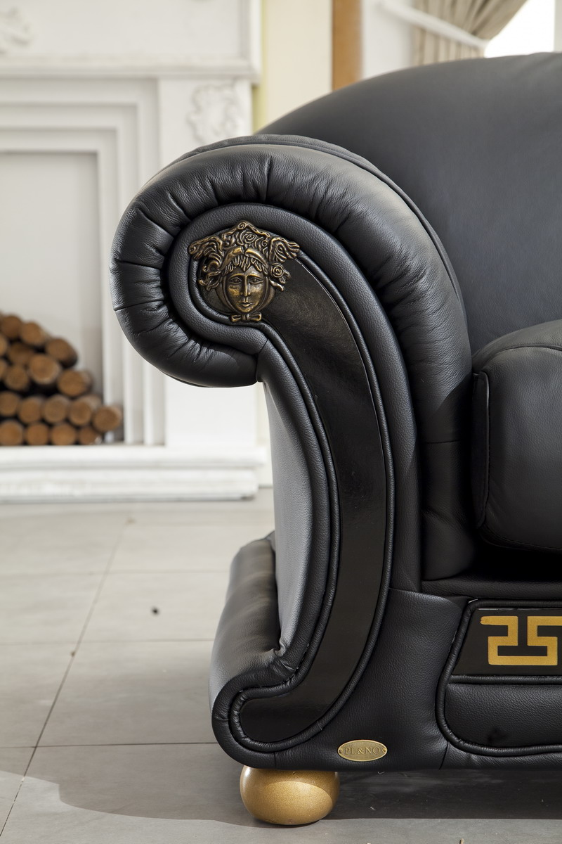 Exceptionnel Versace Leather Sofa
