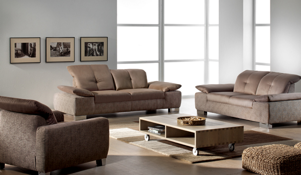 Abano Two-Tone Fabric Sofa