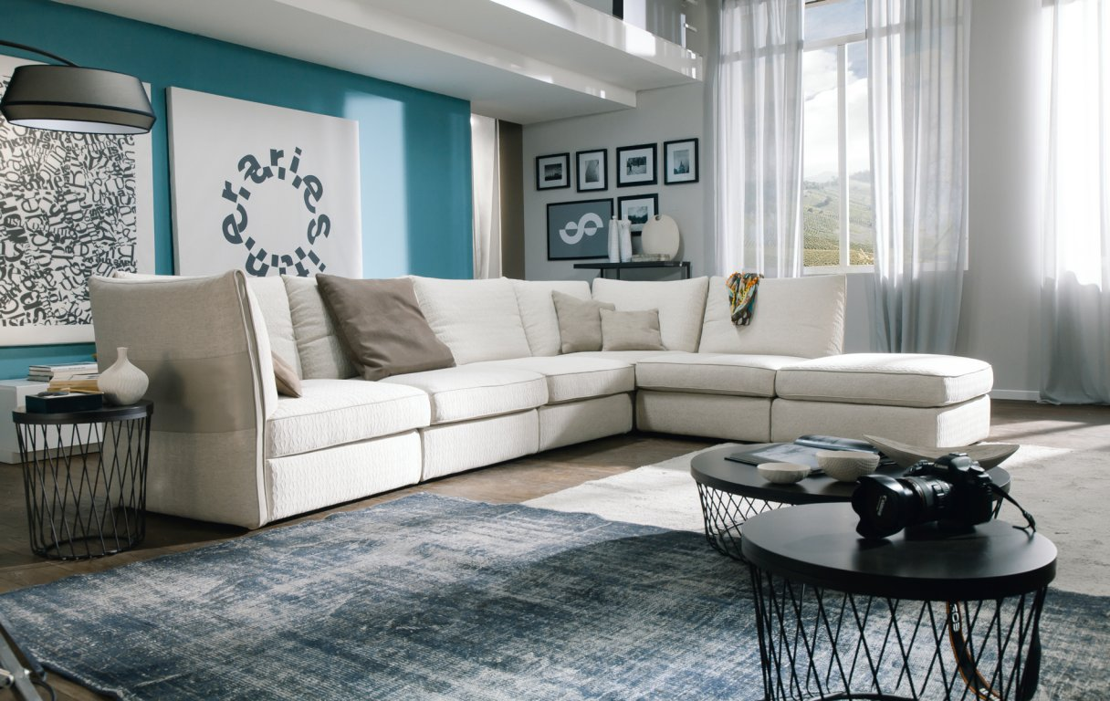 Valenza sectional chateau d 39 ax italmoda furniture store for Chateau d ax catania