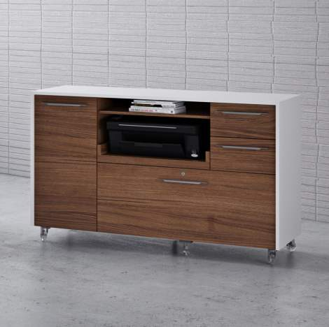 Format 6320 Office Mobile Credenza, BDI