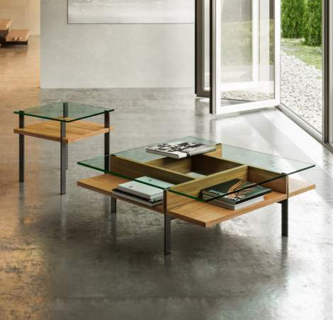 Terrace 1150 Square Coffee Table, BDI