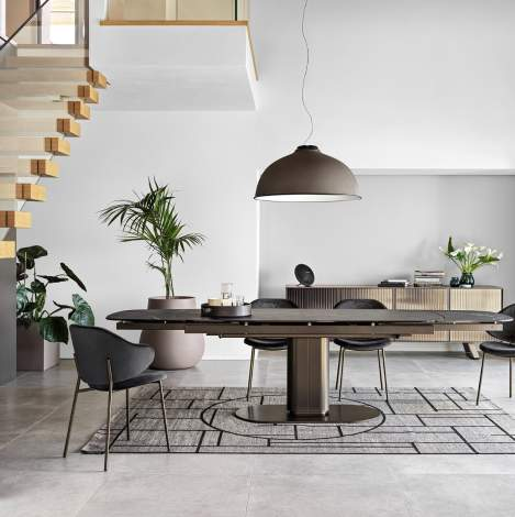 CS/4124-S Cameo Dining Table, Calligaris Italy