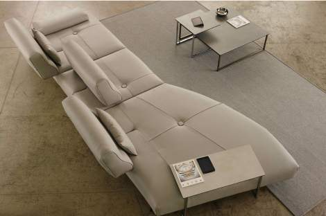 Smart Curved Sectional, Gamma Arredamenti Italy