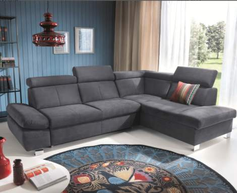 Happy Sectional Right w/Bed & Storage, ESF