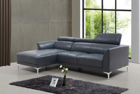 Slate Sectionals with Motion Headrest, Beverly Hills