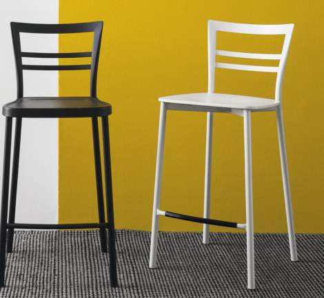 CB/1689 Go! Counter Stool, Connubia by Calligaris Italy