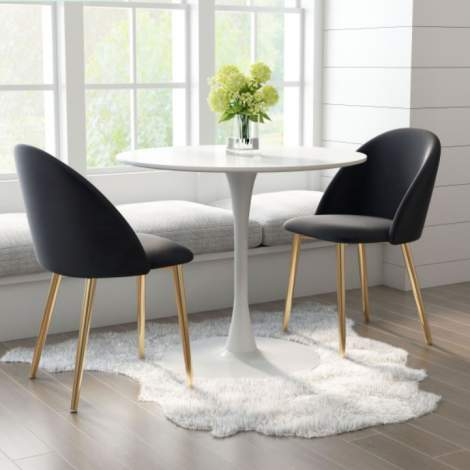 Cozy Dining Chair (Set of 2), Zuo Modern