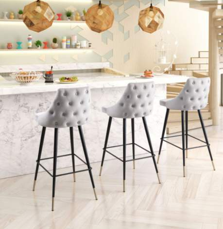 Piccolo Bar Stool, Zuo Modern