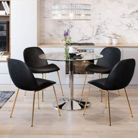 Siena Dining Chair (Set of 2), Zuo Modern