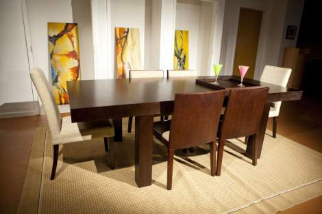 Resolve Dining Table, Beverly Hills