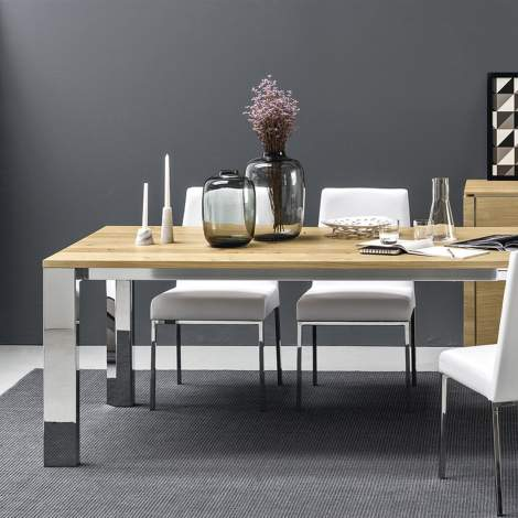 CB/4088 Gate Dining Table, Connubia by Calligaris Italy