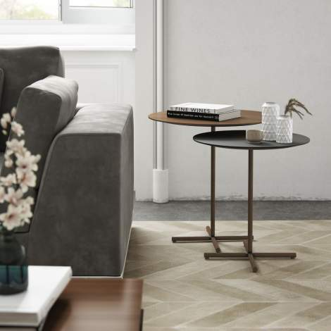 Highbury Duo Color Side Tables, Modloft