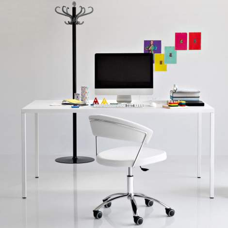CS/4070-R 220 Heron Dining Table, Calligaris Italy