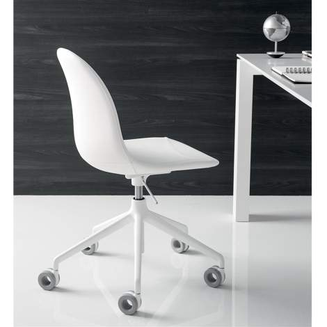 CB/1695 Academy Office Chair, Connubia by Calligaris Italy