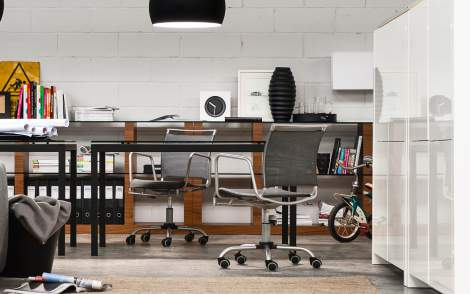 CB/321 Air Race Office Chair, Connubia by Calligaris Italy
