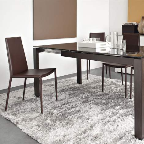 CB/4010-MV 130 Baron Dining Table, Connubia by Calligaris Italy