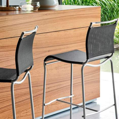 CB/57 Air Counter Stool, Connubia by Calligaris Italy