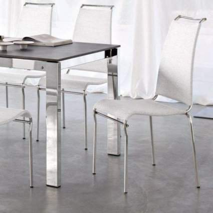 CB/1069 Air High Dining Chair, Connubia by Calligaris Italy