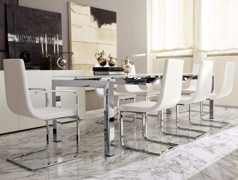 CB/1096-LH Cruiser Dining Chair, Connubia by Calligaris Italy