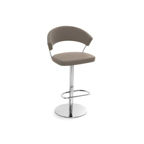 CB/1088-SK New York Adjustable Bar Stool, Connubia by Calligaris Italy