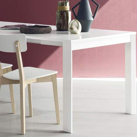 CB/4724-W 90 C Eminence Console/Dining Table, Connubia by Calligaris Italy