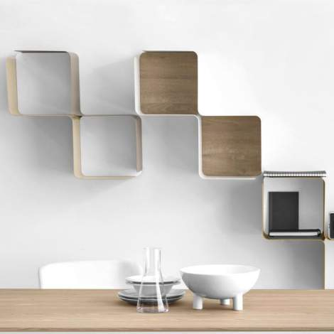 CS/5096 Fractal Modular Shelf, Calligaris Italy