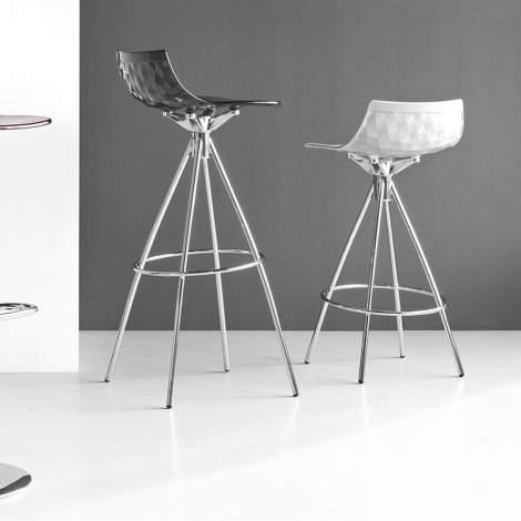 CB/1050 Ice Bar Stool, Connubia by Calligaris Italy