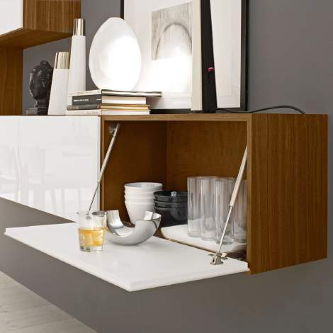 CS/6026-42 Inbox Horizontal Wall Unit, Calligaris Italy