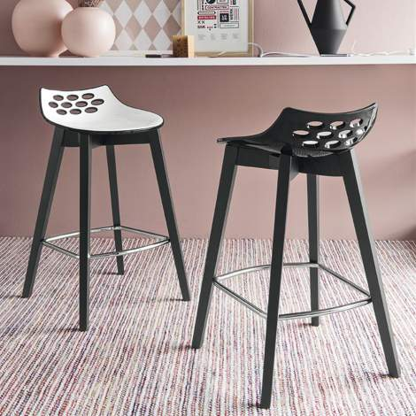 CB/1487 Jam W Bar Stool, Connubia by Calligaris Italy