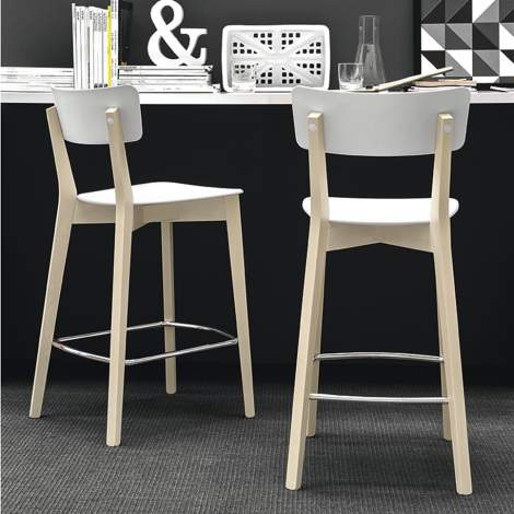 CB/1529 Jelly Counter Stool, Connubia by Calligaris Italy
