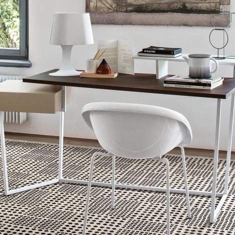 CS/4079 Layers Modern Office Desk, Calligaris Italy