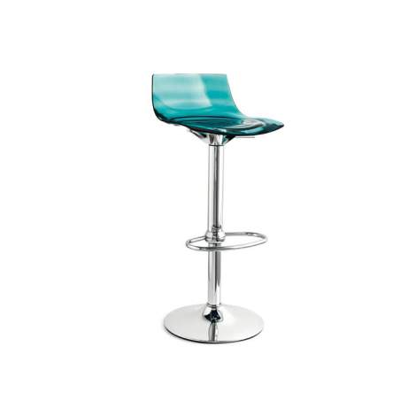 CB/1477 L'eau Adjustable Bar Stool, Connubia by Calligaris Italy
