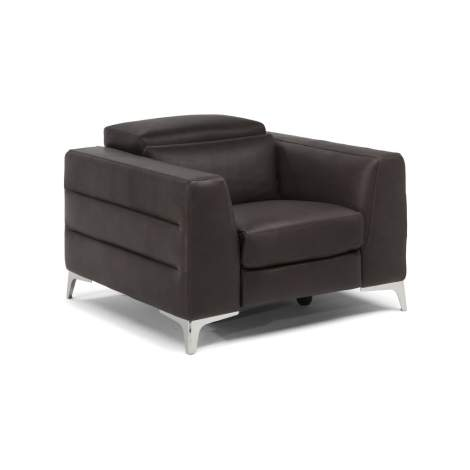 Lorenzo B979 Armchair with Recliner, Natuzzi Editions