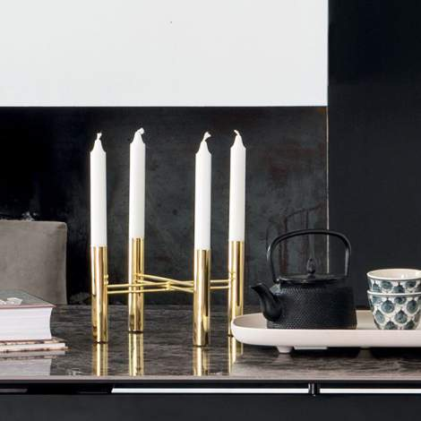 7197 Lume Candle Holder, Calligaris Italy