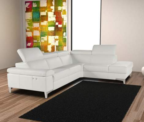 Megan Sectional with Electric Recliner, Giuseppe & Giuseppe Italy