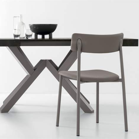 CB/4789-LR 130 Mikado Dining Table, Connubia by Calligaris Italy