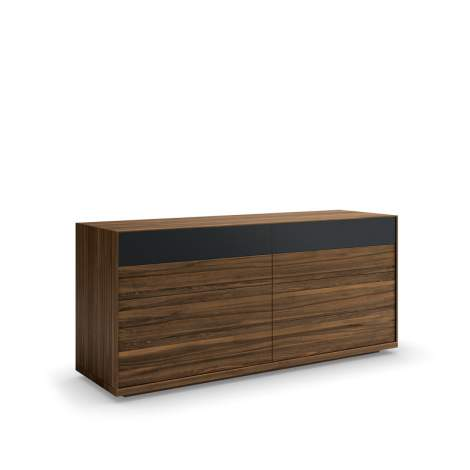 Mimosa Double Dresser With Glass Drawer Front, Mobican