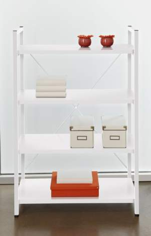 No. 213 Metal Frame Bookcase, Unique 200 Collection