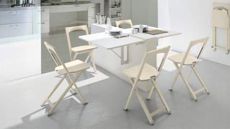 CB/208 Olivia Folding Chair, Connubia by Calligaris Italy