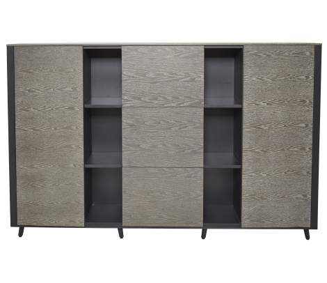 Oslo Storage Credenza with 3 File Drawers & 2 Doors, Unique Furniture
