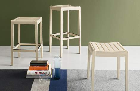 CB/1684 Party Stool, Connubia by Calligaris Italy
