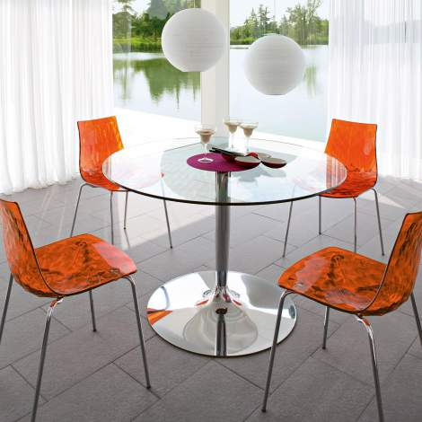CB/4005-VS Planet Dining Table, Connubia by Calligaris Italy