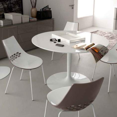 CB/4005-S Planet Dining Table, Connubia by Calligaris Italy
