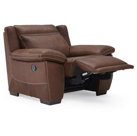 Sandro B875 Armchair with Recliner, Natuzzi Editions