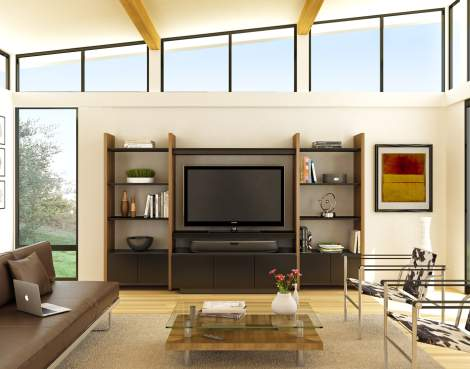 Semblance 5423-TJ Home Theater with Mirage Semblance Cabinet, BDI