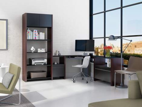 Semblance 5464-DK Office System with Desk