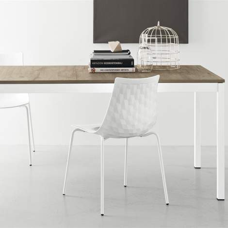 CB/4085-ML Snap Dining Table, Connubia by Calligaris Italy