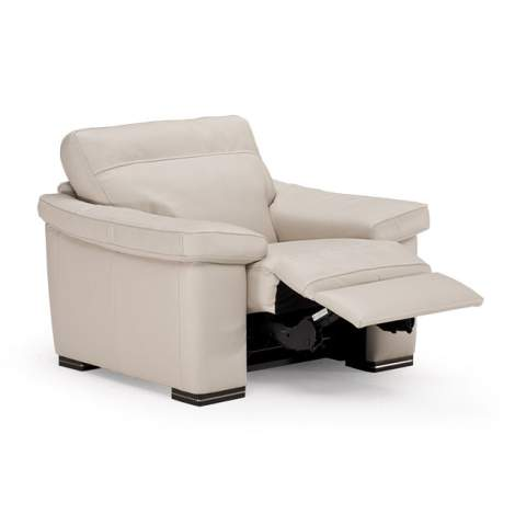 Stefano B814 Armchair with Recliner, Natuzzi Editions